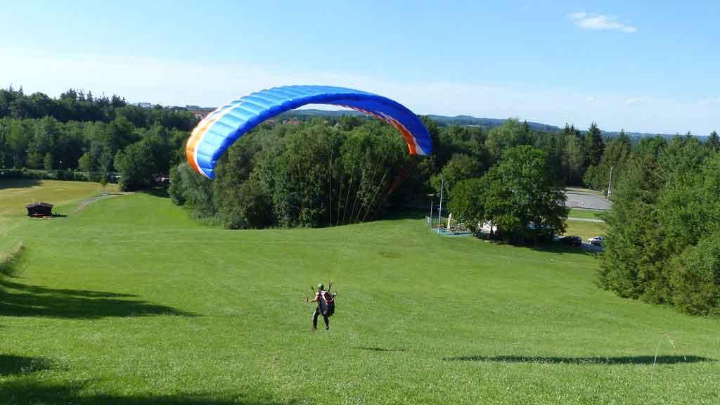 Schnupperkurs-Gleitschirmfliegen-Oberbayern