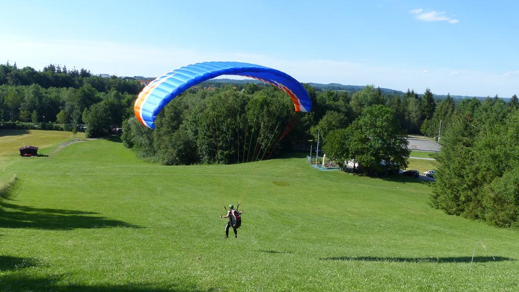 gleitschirmfliegen-landung
