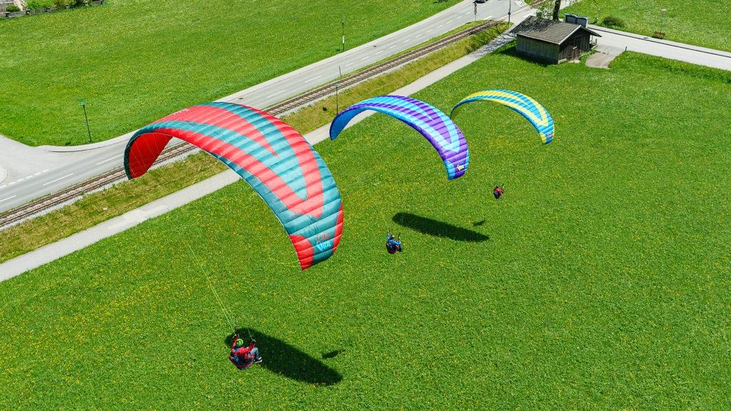 Oberbayern-Grundkurs-Gleitschirmfliegen