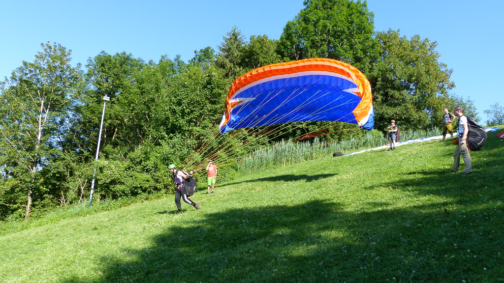 Schnupperkurs-Gleitschirmfliegen-Bayern